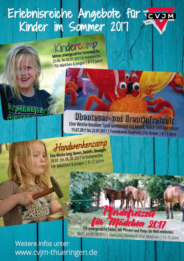 Werbung Kinderfreizeiten 2017