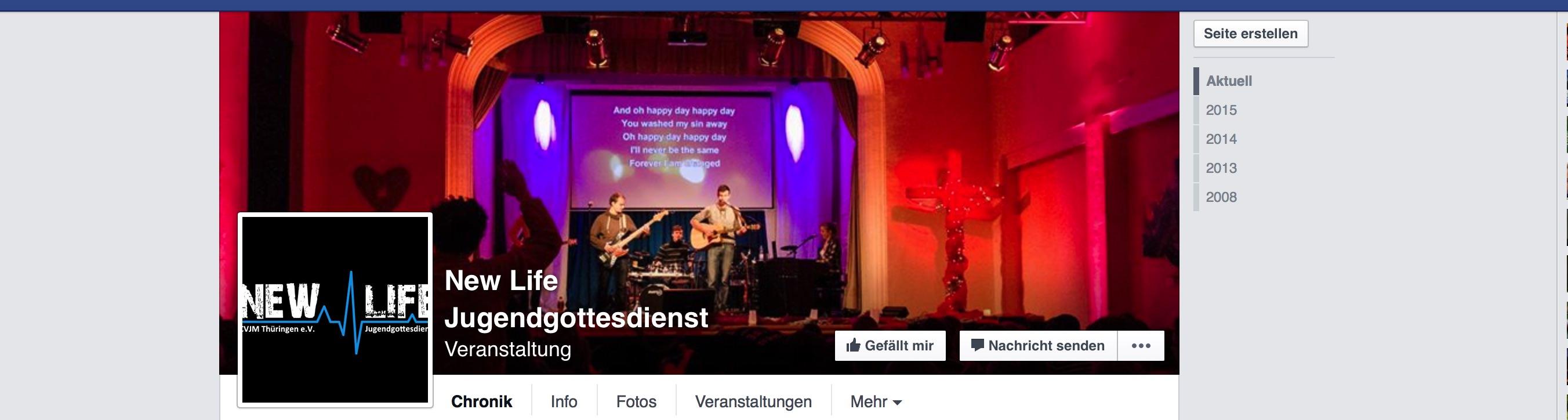 newlife facebook