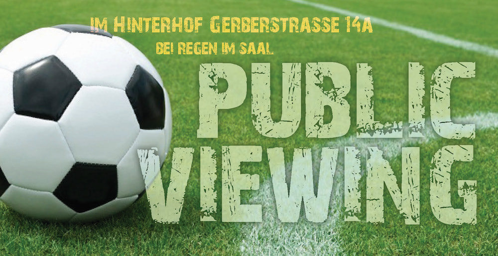public viewing 2018 schmal